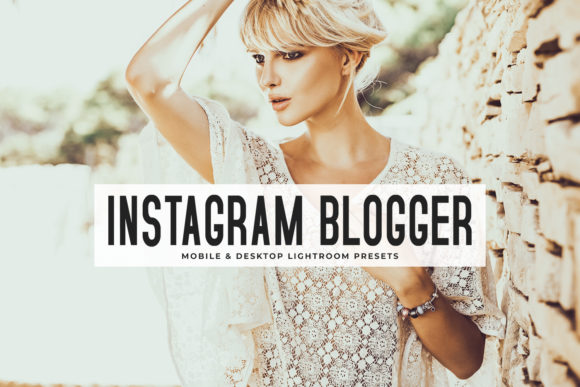 Instagram Blogger Lightroom Presets