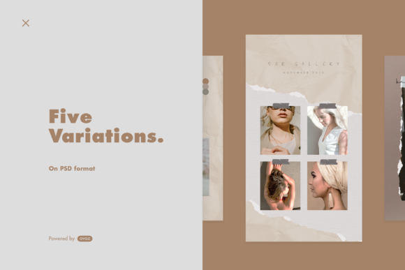 Print on Demand: Instagram Story Template Graphic Graphic Templates By ovoz.graphics - Image 4