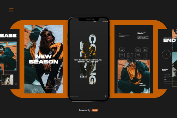 Print on Demand: Instagram Story Template Graphic Graphic Templates By ovoz.graphics - Image 7