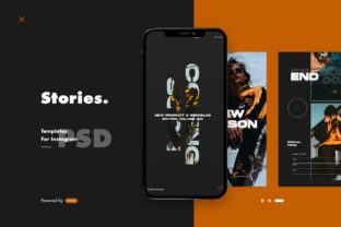 Instagram Story Template Graphic By ovoz.graphics