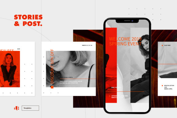Print on Demand: Instagram Template Graphic Graphic Templates By ovoz.graphics - Image 3