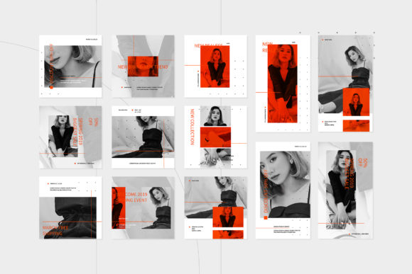 Print on Demand: Instagram Template Graphic Graphic Templates By ovoz.graphics - Image 7