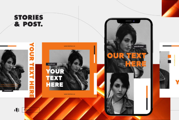 Print on Demand: Instagram Template Graphic Graphic Templates By ovoz.graphics - Image 6