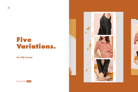 Print on Demand: Instagram Template Graphic Graphic Templates By ovoz.graphics - Image 5