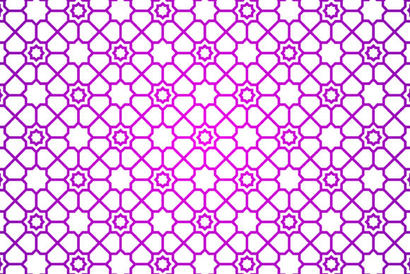 Download Free Islamic Geometric Pattern Purple Grafico Por Noory Shopper for Cricut Explore, Silhouette and other cutting machines.