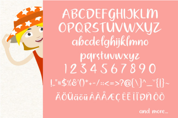 Print on Demand: It's Travel Time Display Font By VNM Creative Studio - Image 7