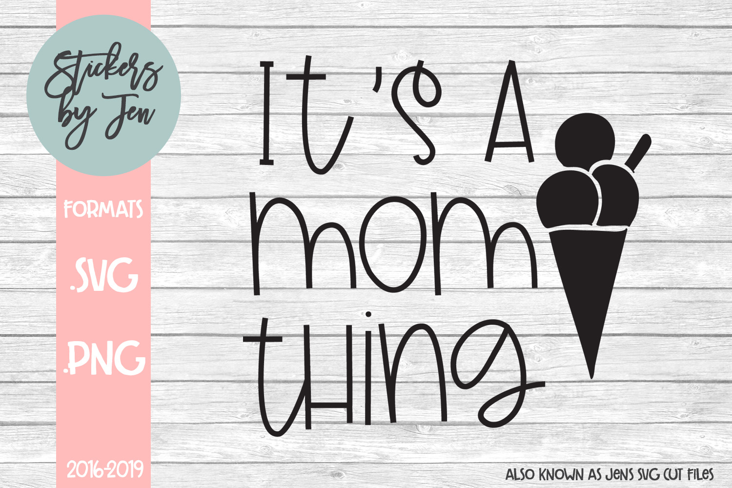 Download Free It S A Mom Thing Svg Graphic By Stickers By Jennifer Creative for Cricut Explore, Silhouette and other cutting machines.