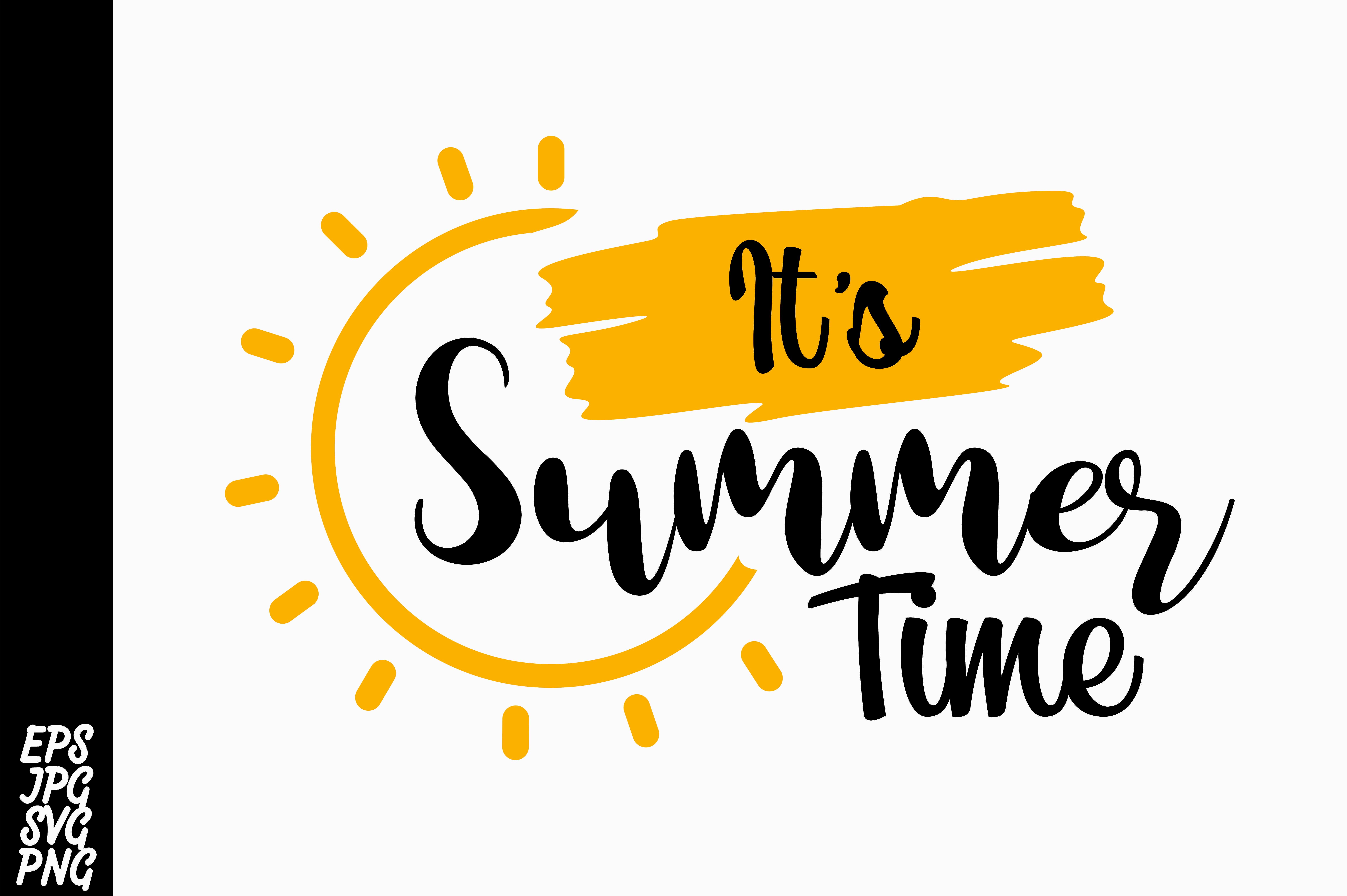 Download Free It S Summer Time Svg Graphic By Arsa Adjie Creative Fabrica for Cricut Explore, Silhouette and other cutting machines.