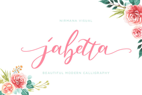 Print on Demand: Jabetta Script & Handwritten Font By Sigit Dwipa