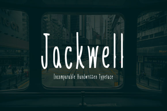 Jackwell Display Font By Imposing Fonts
