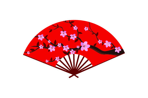 Download Free Japanese Fan Svg Cut File By Creative Fabrica Crafts Creative for Cricut Explore, Silhouette and other cutting machines.