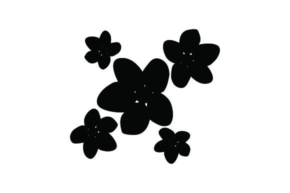 Download Free Japanese Flower Svg Cut File By Creative Fabrica Crafts Creative Fabrica for Cricut Explore, Silhouette and other cutting machines.