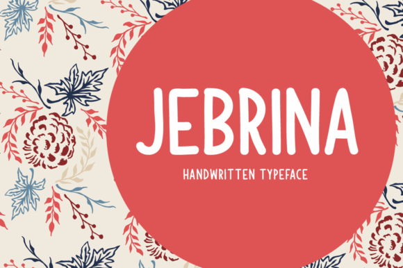 Print on Demand: Jebrina Display Font By Shattered Notion