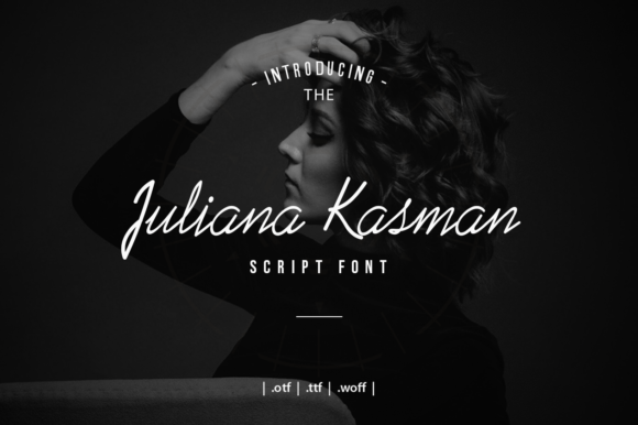 Print on Demand: Juliana Kasman Script & Handwritten Font By Zavira Mumtaz