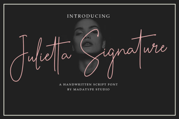 Print on Demand: Julietta Signature Script & Handwritten Font By Madatype Studio