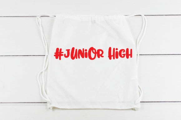Junior High Cut File Graphic By Oldmarketdesigns Creative Fabrica