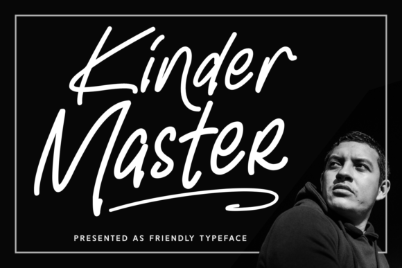 Print on Demand: Kinder Master Script & Handwritten Font By Adyfo (7NTypes)