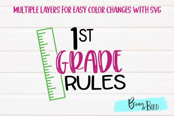 Download Free Kindergarten 5th Grade Rules Svg Set Graphic By Jessica Maike for Cricut Explore, Silhouette and other cutting machines.