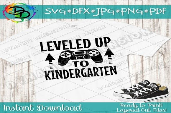 Print on Demand: Kindergarten Back to School Graphic OpenCart By dynamicdimensions