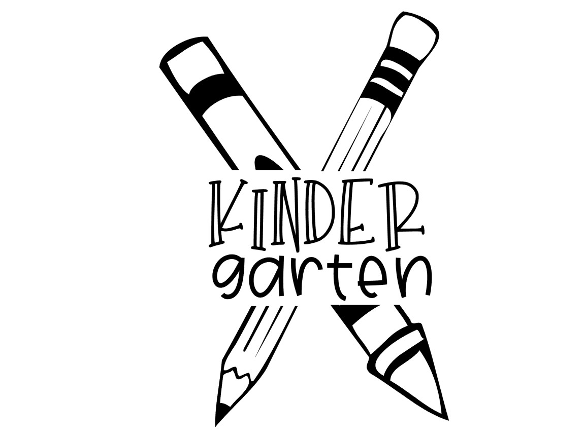 Download Free Kindergarten Graphic By Thesmallhouseshop Creative Fabrica for Cricut Explore, Silhouette and other cutting machines.