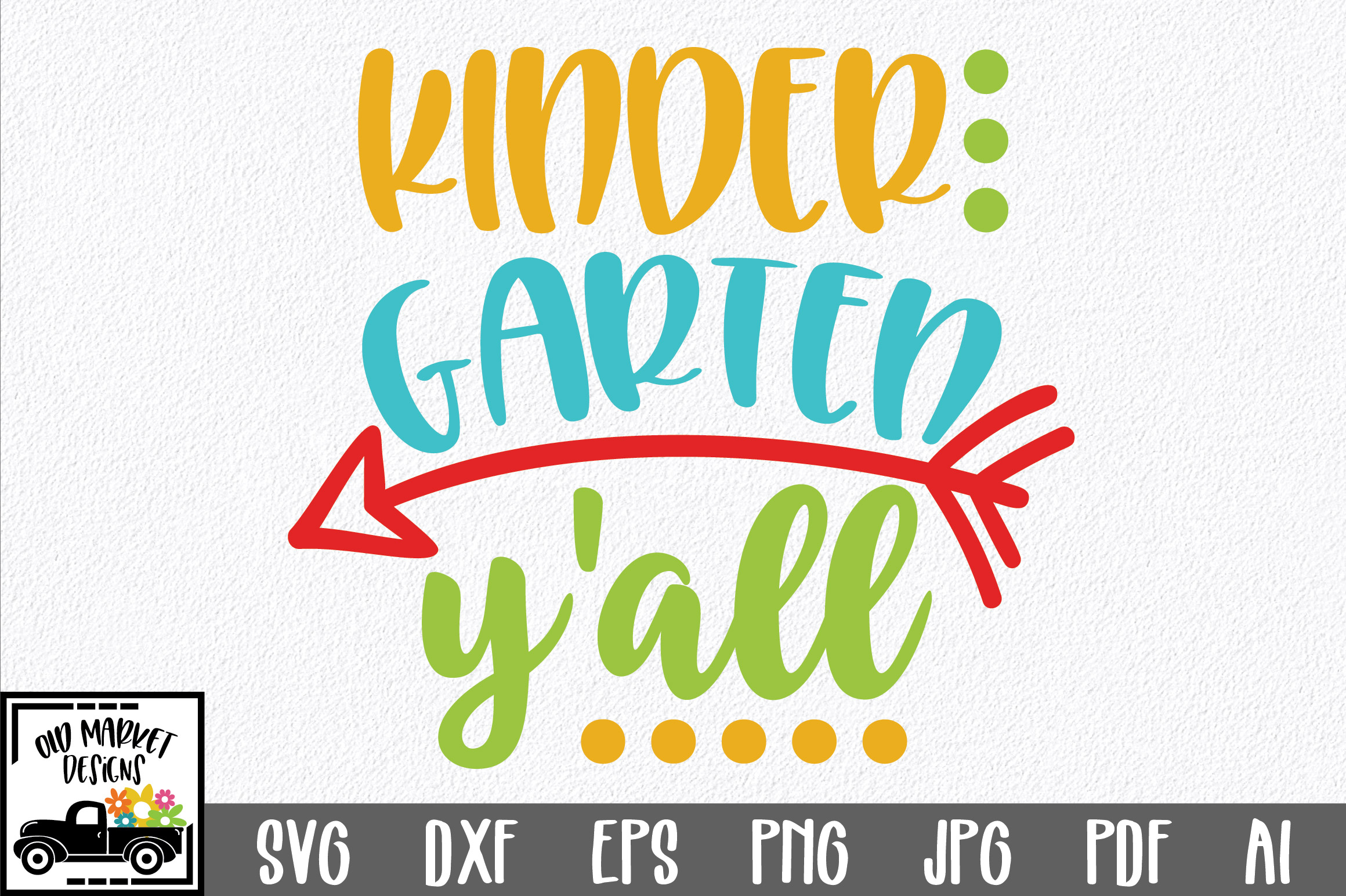 Download Free Kindergarten Y All Svg Cut File Graphic By Oldmarketdesigns for Cricut Explore, Silhouette and other cutting machines.