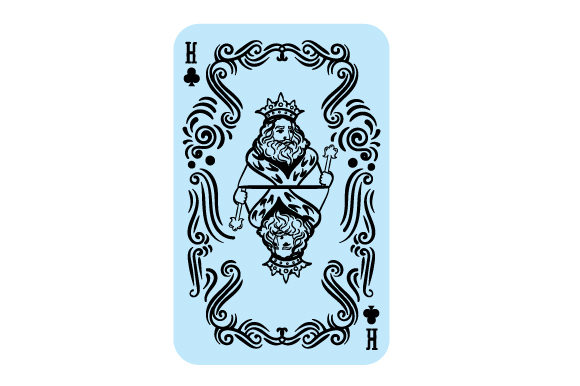 King of Clubs Games Craft Cut File By Creative Fabrica Crafts