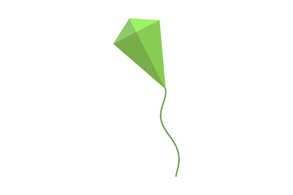 Download Free Kite Icon Graphic By Marco Livolsi2014 Creative Fabrica for Cricut Explore, Silhouette and other cutting machines.