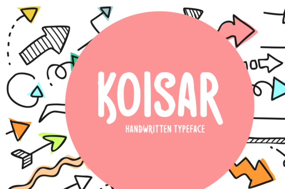 Print on Demand: Koisar Display Font By Instagram Fonts