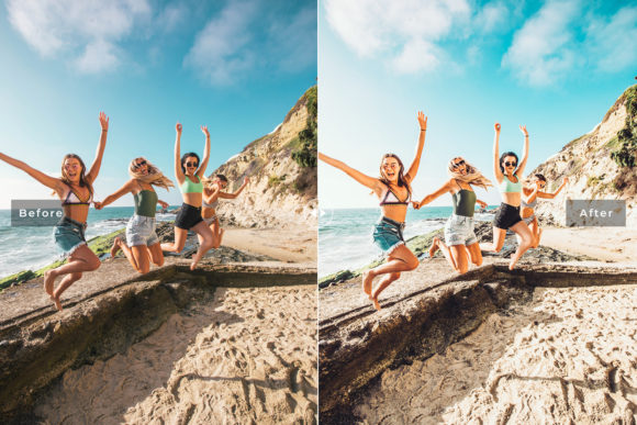 Download Free Laguna Mobile Desktop Lightroom Preset Graphic By Creative for Cricut Explore, Silhouette and other cutting machines.