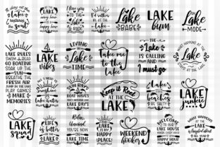 Download Free Lake Bundle Graphic By Illustrator Guru Creative Fabrica for Cricut Explore, Silhouette and other cutting machines.