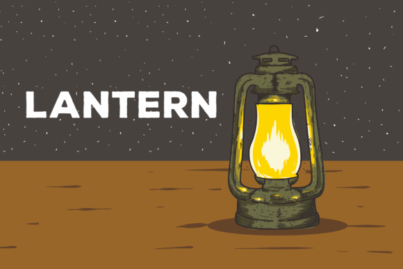 Download Free Lantern Vector Background Illustration Graphic By Peterdraw for Cricut Explore, Silhouette and other cutting machines.