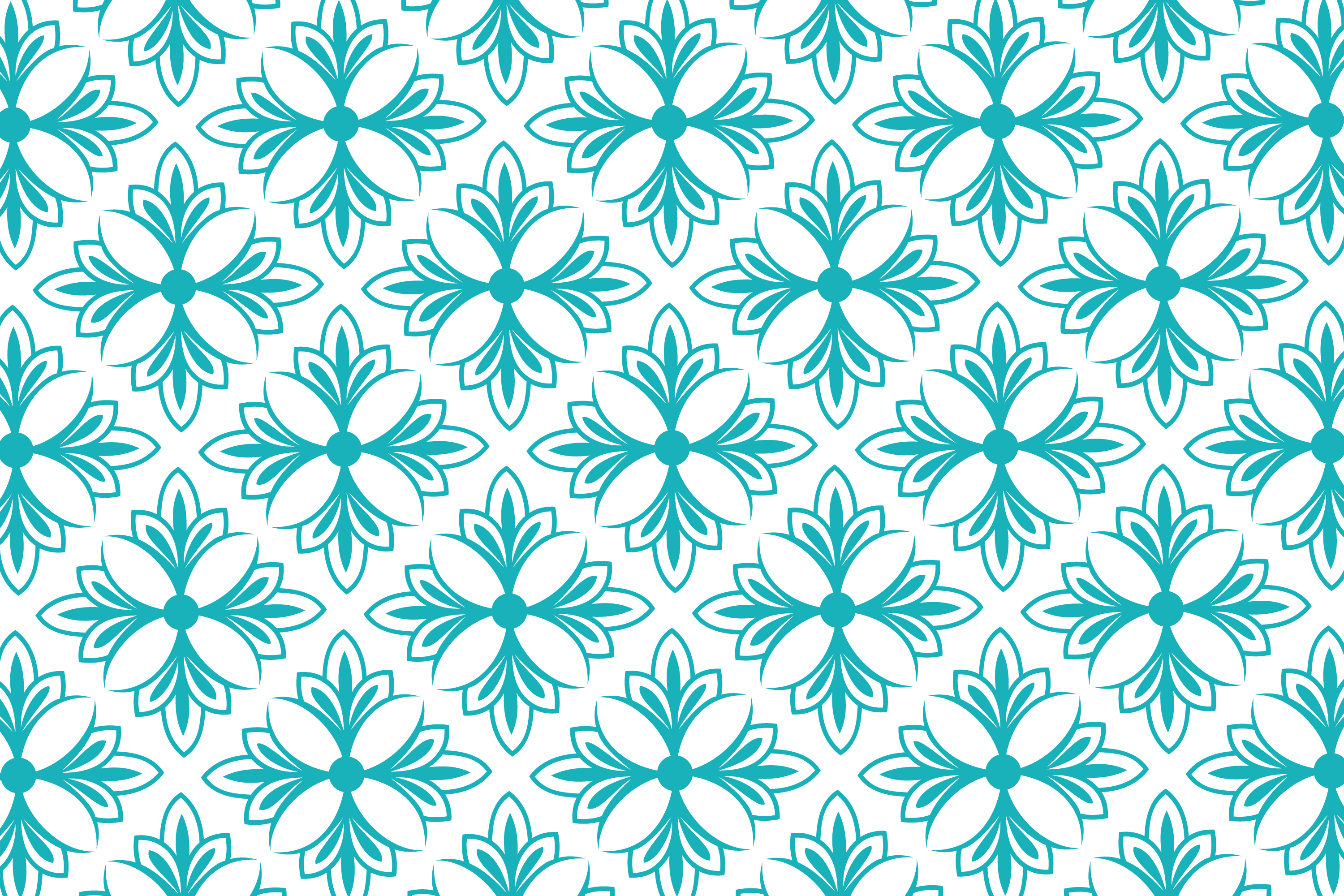 Download Free Leaf Pattern Soft Green Graphic By Noory Shopper Creative Fabrica for Cricut Explore, Silhouette and other cutting machines.