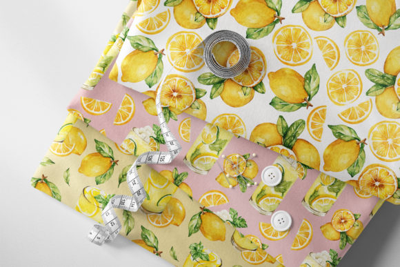 Print on Demand: Lemonade Watercolor Set Graphic Illustrations By Typia Nesia - Image 2