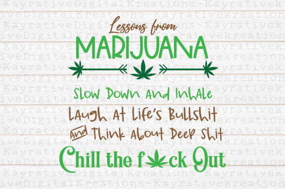 Lessons from Marijuana Graphic Crafts By Kayla Griffin