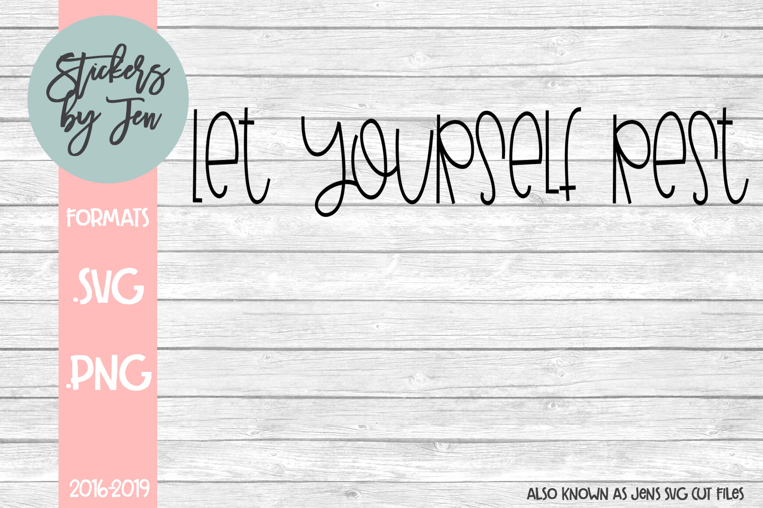 Download Free Let Yourself Rest Svg Graphic By Jens Svg Cut Files Creative for Cricut Explore, Silhouette and other cutting machines.