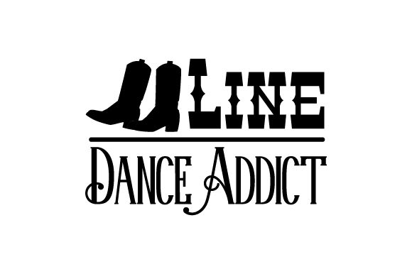 Line Dance Addict Dance & Cheer Craft Cut File By Creative Fabrica Crafts - Image 2