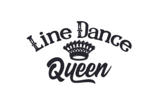 Line Dance Queen Craft Design By Creative Fabrica Crafts