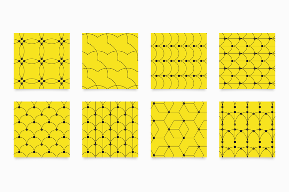 Line Patterns Graphic Patterns By unio.creativesolutions - Image 3