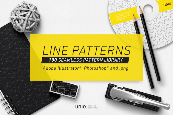 Line Patterns Graphic Patterns By unio.creativesolutions