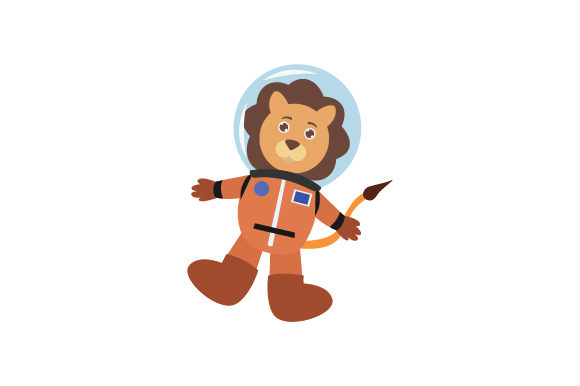 Download Free Lion In Space Suit Svg Cut File By Creative Fabrica Crafts for Cricut Explore, Silhouette and other cutting machines.