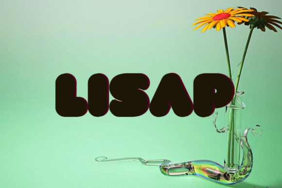Print on Demand: Lisap Display Font By interiormentor