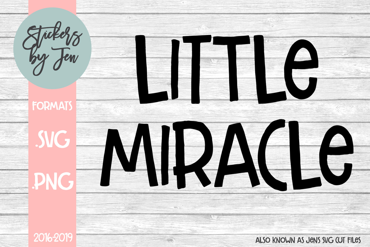 Little Miracle Graphic By Stickers By Jennifer Creative Fabrica