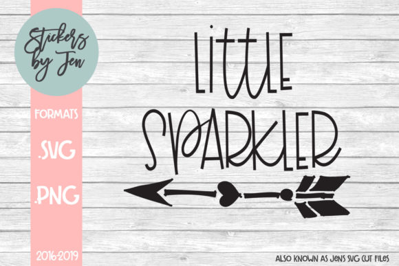 Download Free Little Sparkler Graphic By Stickers By Jennifer Creative Fabrica for Cricut Explore, Silhouette and other cutting machines.
