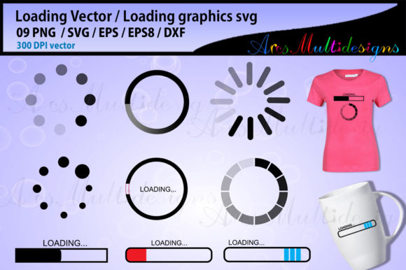 Loading Loading Vector Load Icon Graphic By Arcs Multidesigns