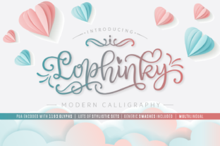 Print on Demand: Lophinky Script & Handwritten Font By Situjuh