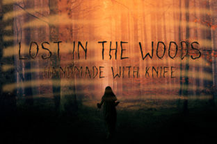 Print on Demand: Lost in the Woods Sans Serif Font By Dasagani