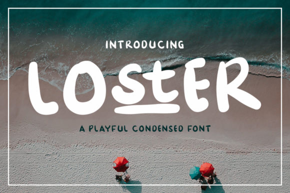Print on Demand: Loster Display Font By Madatype Studio