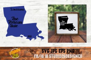 Download Free Louisiana State Nickname Graphic By Studio 26 Design Co for Cricut Explore, Silhouette and other cutting machines.