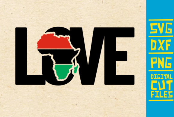 Download Free Love Africa Vector Roots Black Girl Graphic By SVG Cut Files
