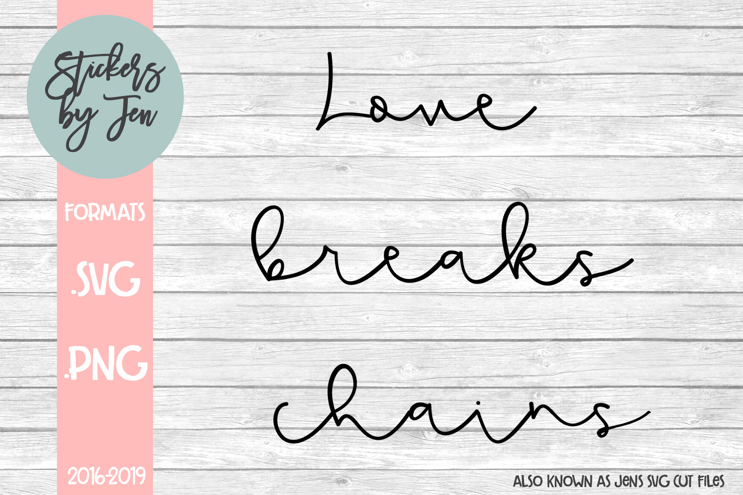 Love Breaks Chains Svg Graphic By Jens Svg Cut Files Creative
